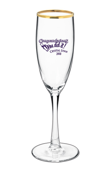 5.75 oz montego champagne wedding glass