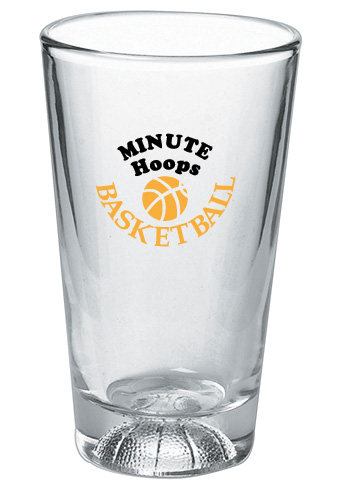 Basketball Beer Glasses 16 oz
