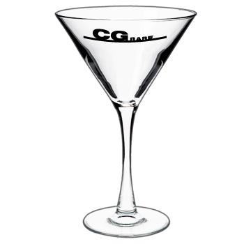 Tall ARC Martini Glasses With Your Logo 10 oz