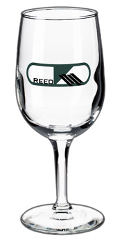 6.5 oz Libbey citation custom printed tall wine glass