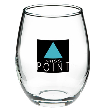 9 oz perfection stemless wedding wine glass