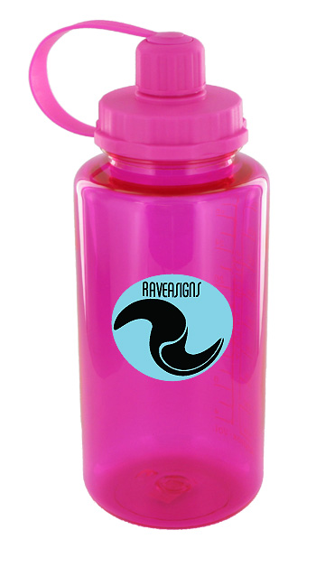 34 oz mckinley sports water bottle - pink