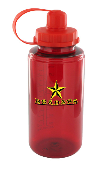 34 oz mckinley sports water bottle - red