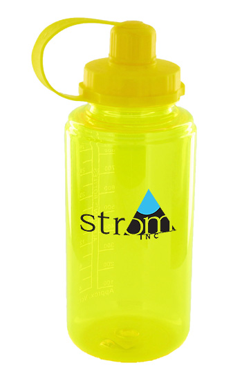 34 oz mckinley sports water bottle  - yellow