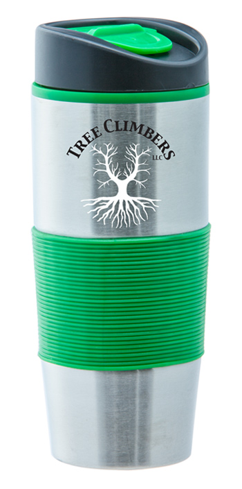 15 oz Ventura Stainless Steel Travel mug - Green