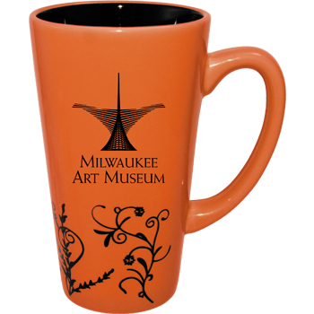 16 oz Vineland Funnel Mug - Apricot Orange