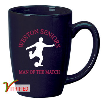 14 oz Houston Endeavor Customized Mug - Cobalt Blue